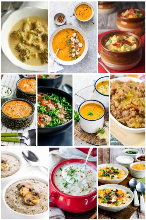 20 Best Low Carb & Keto Soup Recipes #ketosoups #lowcarbsoups #soups #soup #ketodiet #ketorecipes #ketolunch #ketodinner #souprecipes   buttertogetherkitchen.com