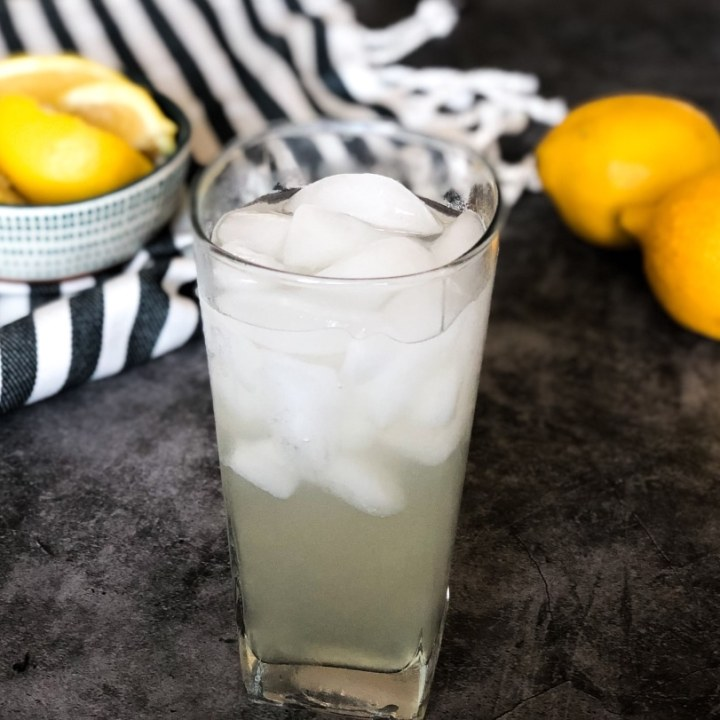 Sugar-Free Keto Lemonade | Single Glass Recipe
