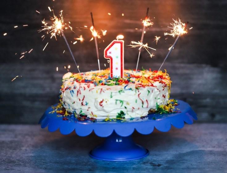 Fabulous Funfetti Keto Birthday Cake 1 Year Blog Birthday Butter Birthday Cards Printable Benkemecafe Filternl