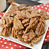 Best Keto Candied Pecans