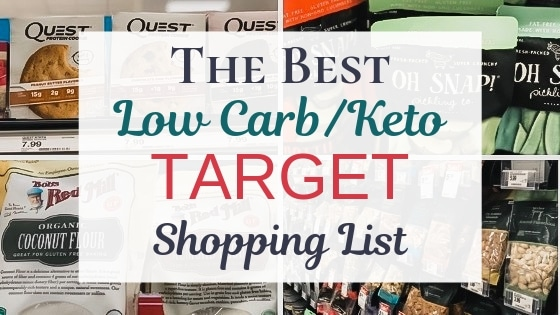Best Keto Target Shopping List