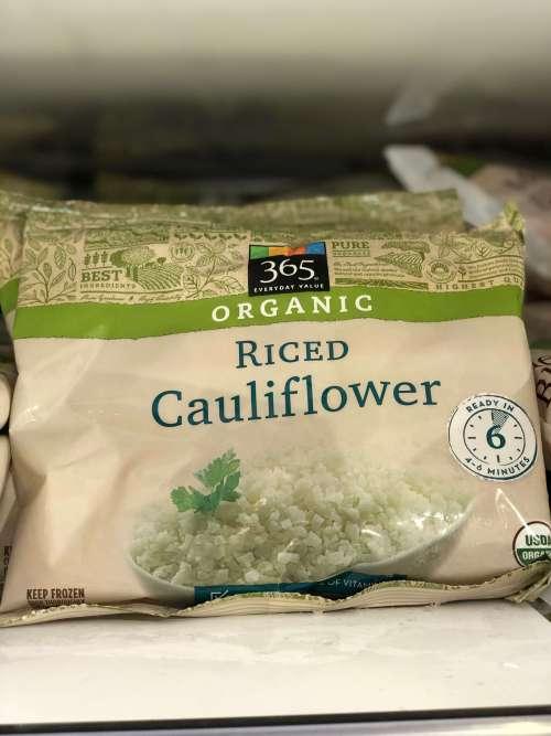 frozen cauliflower at whole foods
