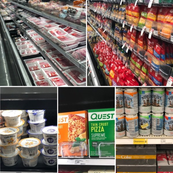 keto target meat and dairy options