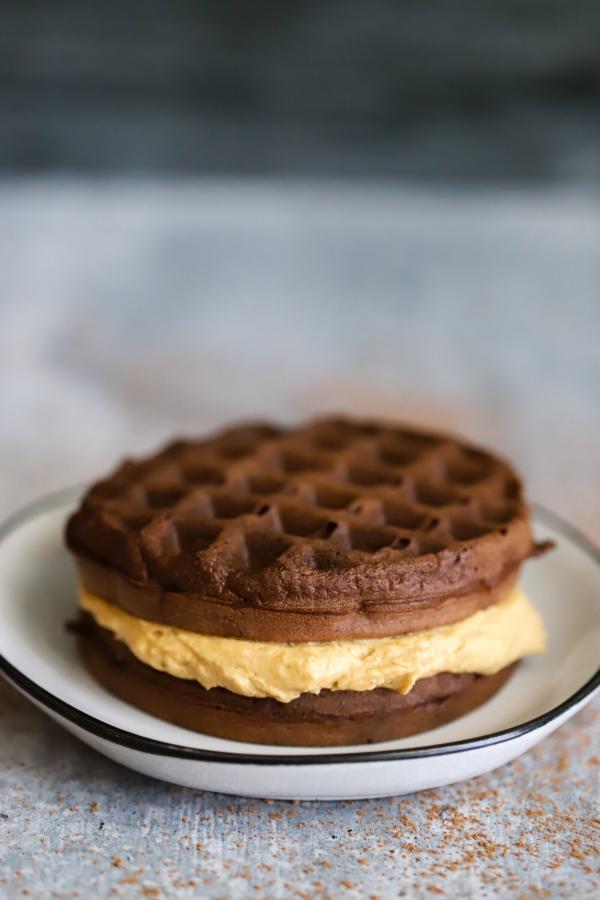 Keto Peanut Butter Chaffles