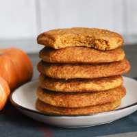 The BEST Keto Pumpkin Snickerdoodle Cookies