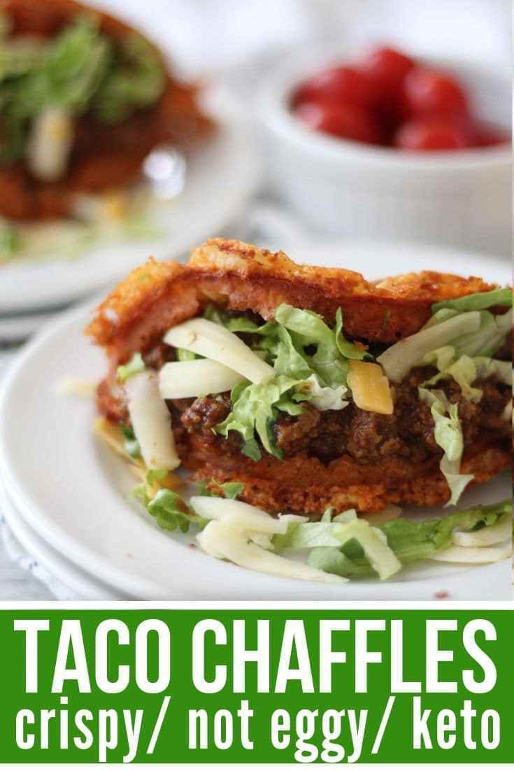 Taco Chaffle Recipe: Delicious Crispy Keto Taco Shells