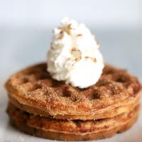 Keto Snickerdoodle Chaffle