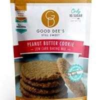 Good Dee's Peanut Butter Cookie Mix - Low Carb, Keto Friendly, Diabetic Friendly, Sugar Free, Gluten Free