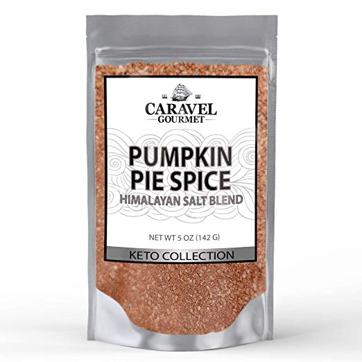 Keto Collection - Pumpkin Pie Himalayan Pink Salt Blend - Cinnamon, Nutmeg, Ginger, Allspice
