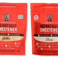 Lakanto Monkfruit Natural Sweetener Variety Pack, Classic and Golden Sweetener