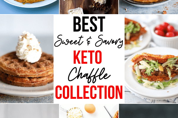 Best Sweet and Savory Keto Chaffles