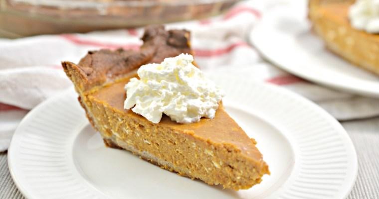 Easy Keto Pumpkin Pie