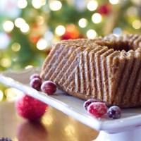 Buttered Rum Cake - Keto, Low Carb, GF