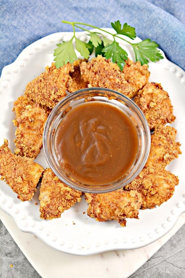 Best Air Fryer Keto Chicken Nuggets Butter Together Kitchen
