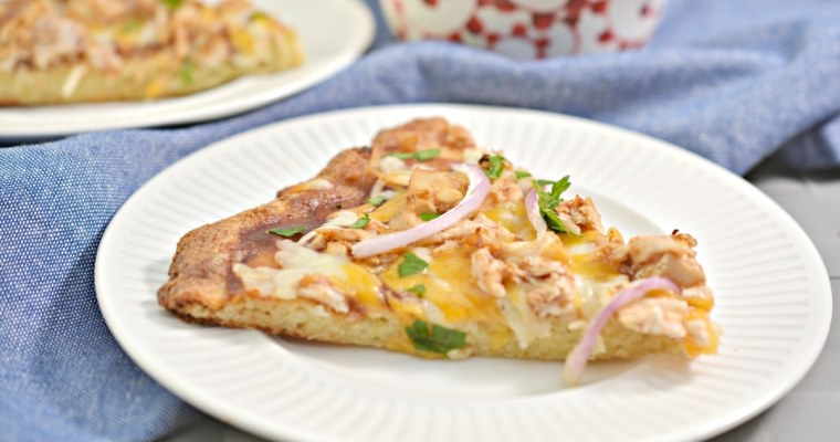 Tasty Keto BBQ Chicken Pizza