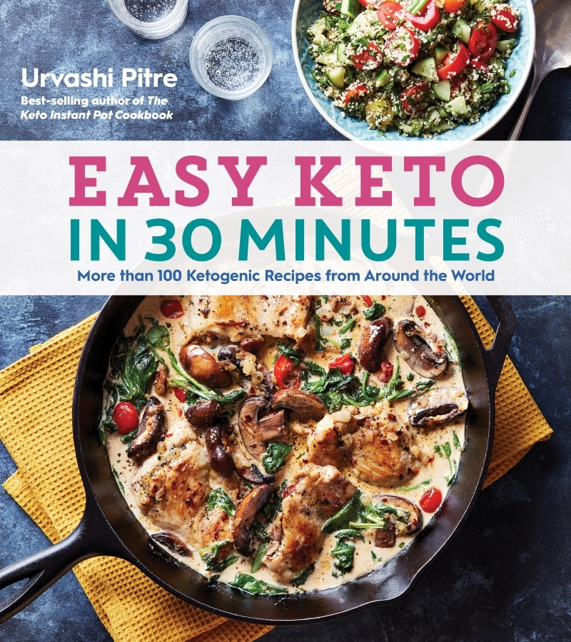 book cover of easy keto in 30 minutes