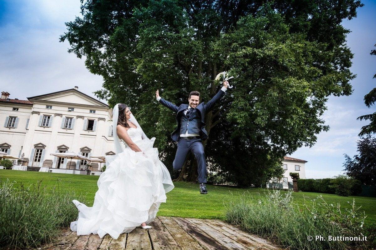 Fotografie del Matrimonio in Villa Zanchi