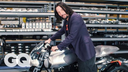 Keanu Reeves Shows Us His Most Prized Motorcycles | Collected | GQ - technology news - buttondown.tv