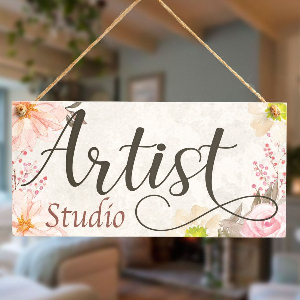 Artist Studio - Beautiful Handmade Art Door