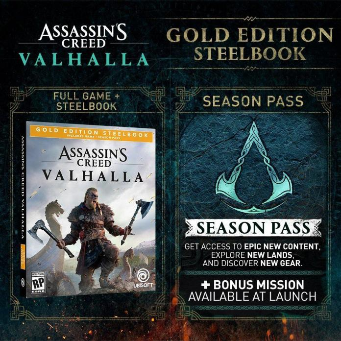 Assassin's Creed Valhalla Has a Number of Editions to Pre-Order