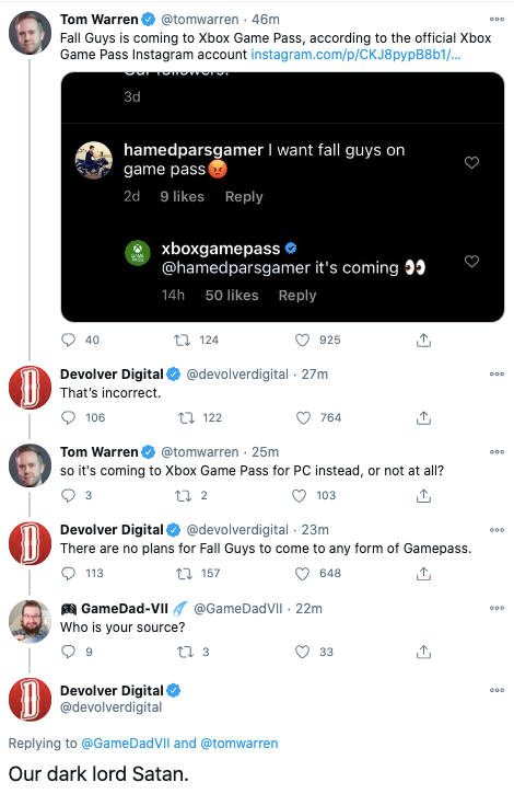 Fall Guys Is Not Coming To Xbox Game Pass