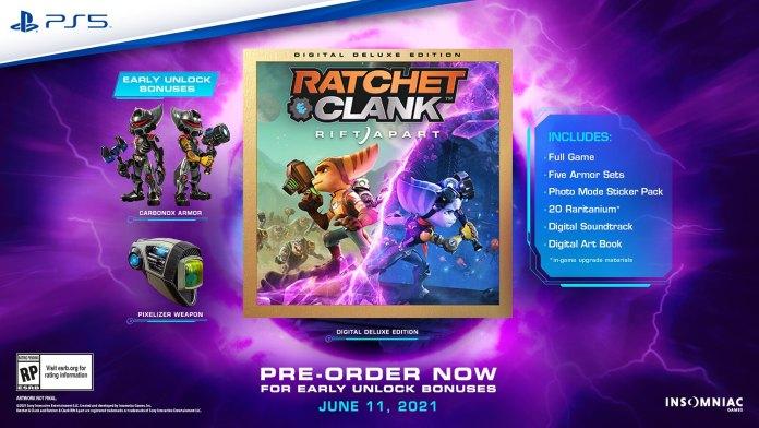Ratchet & Clank Rift Apart Gets A Release Date