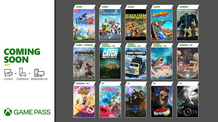15 More Games Coming To Xbox Game Pass In May