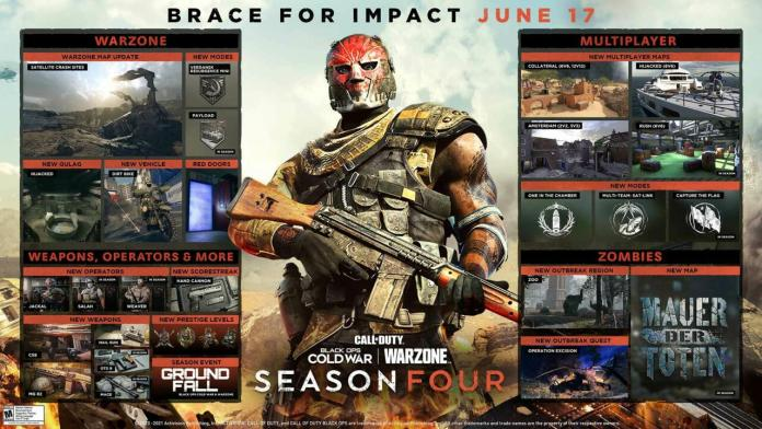 All The Details For Season 4 Of Call of Duty Black Ops Cold War And Warzone