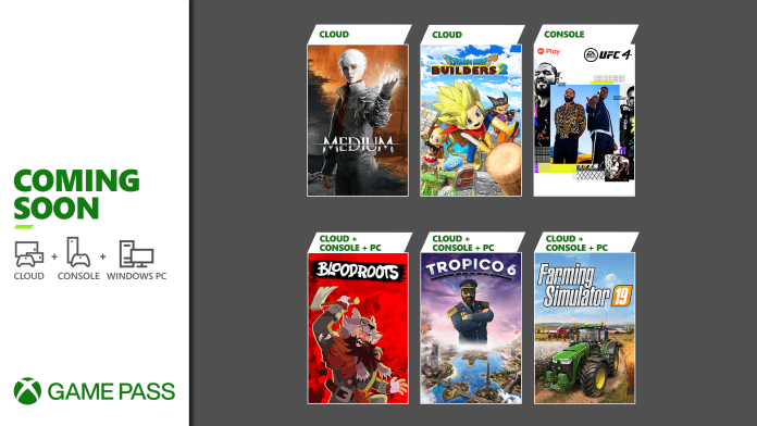 Xbox Game Pass Titles For July Unveiled