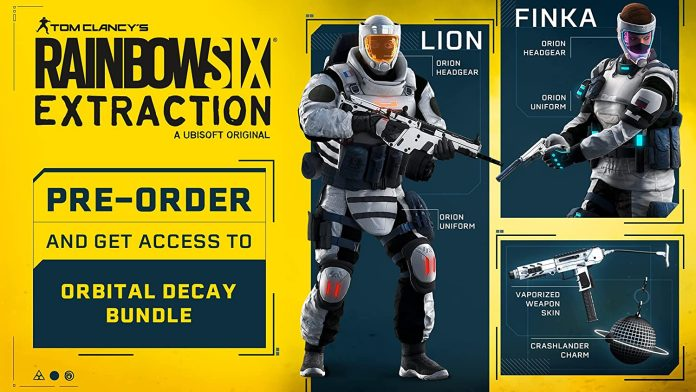 Rainbow Six Extraction Preorders Are Available
