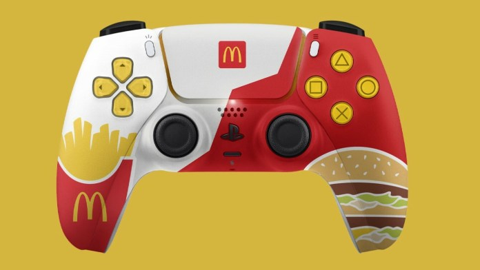 Sony Stops McDonalds Australia From Giving Away Themed PS5 Controllers