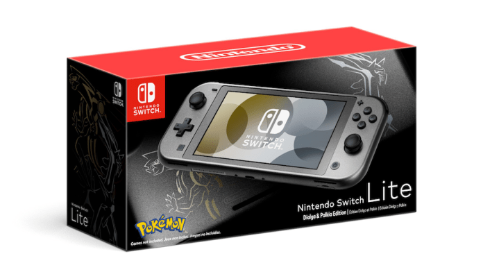 New Switch Lite Dialga And Palkia Edition Coming November 5th