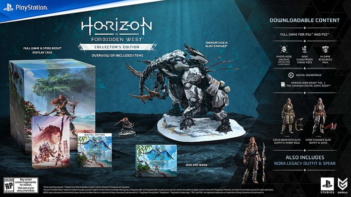 Horizon Forbidden West Preorders Are Live: Check Availability On Collector's Editions And More