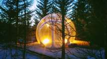Aurora Borealis Bubble & Igloo Hotels In Iceland