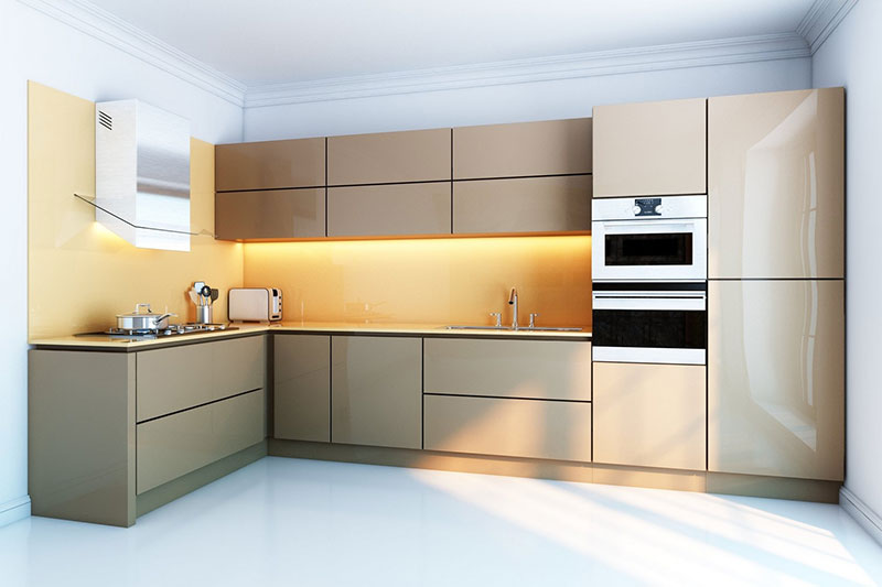 20 Metal Kitchen Cabinets Design Ideas  Buungicom