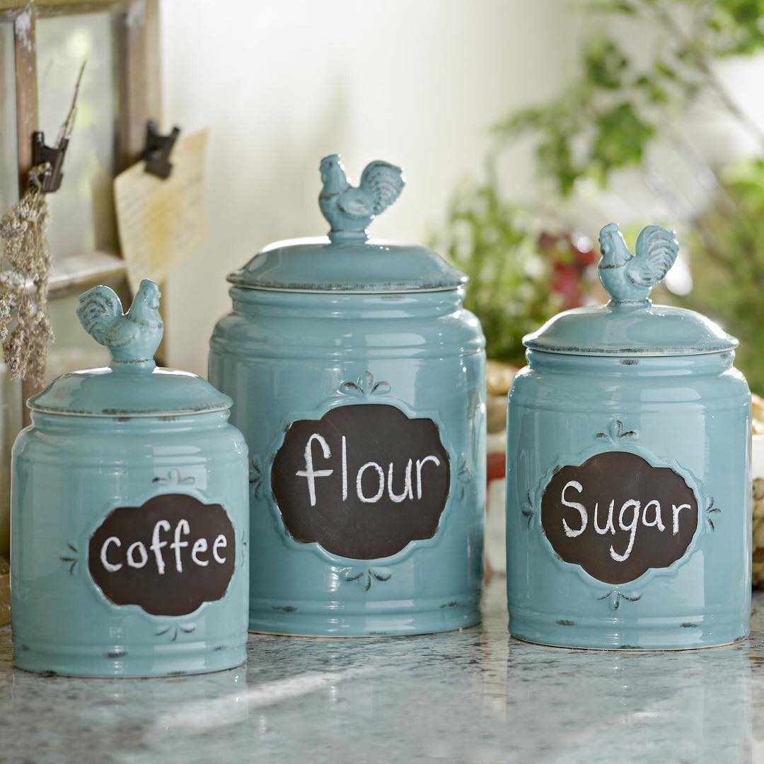 Kitchen Canisters Designs for Modern Living  Buungicom
