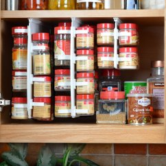 Kitchen Cabinet Spice Rack Faucets Costco Ideas For The And Pantry Buungi