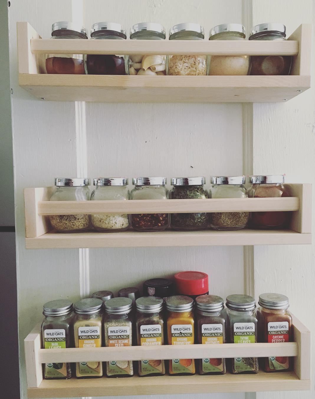 revolving spice racks for kitchen led light rack ideas the and pantry buungi