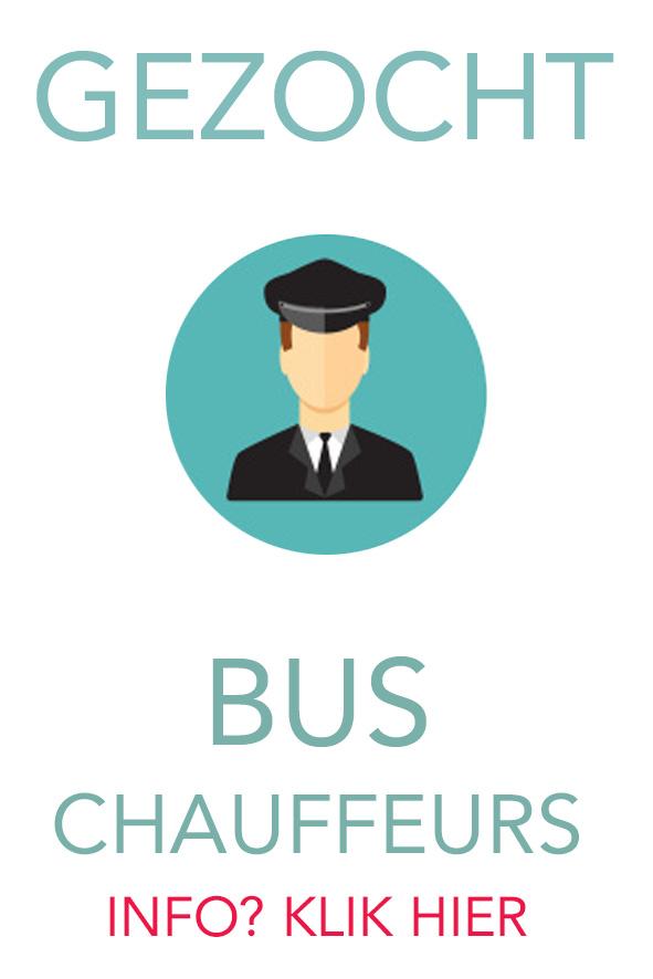 Wij zoeken buschauffeurs! - Klik hier!