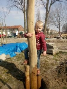 Klimpaal Buurttuin Breda