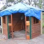 tuinhuisje in opbouw 2