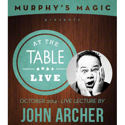 At the Table Live Lecture - John Archer 10/1/2014