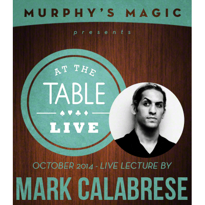 At the Table Live Lecture - Mark Calabrese 10/29/2014