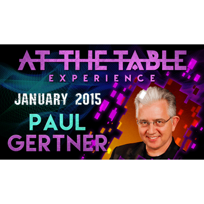 At the Table Live Lecture - Paul Gertner 01/07/2015