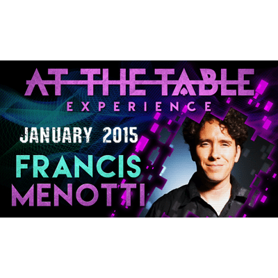 At the Table Live Lecture - Francis Menotti 01/14/2015