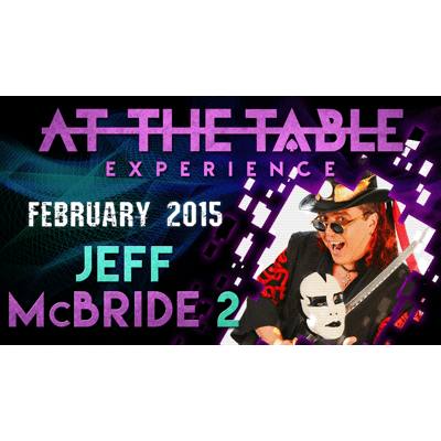At the Table Live Lecture - Jeff McBride 2/18/15