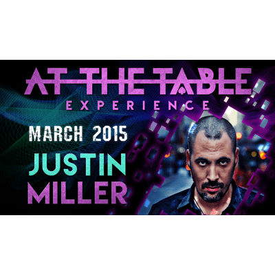 At the Table Live Lecture - Justin Miller 3/18/2015