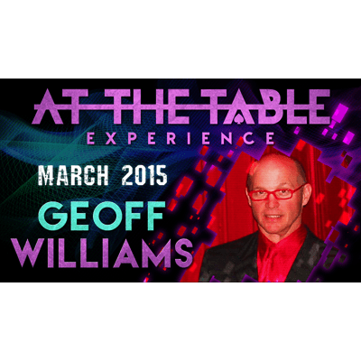 At the Table Live Lecture - Geoff Williams 3/25/2015