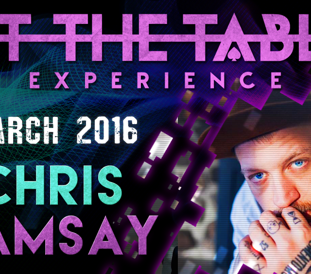 At the Table Live Lecture Chris Ramsay March 3rd 2016