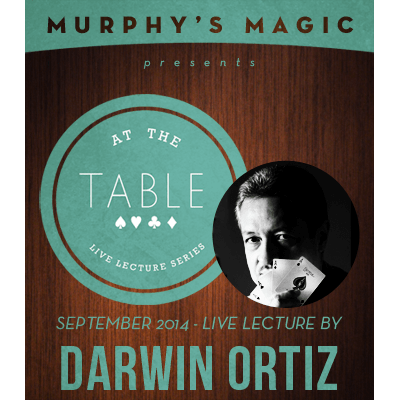 At the Table Live Lecture - Darwin Ortiz 9/3/2014